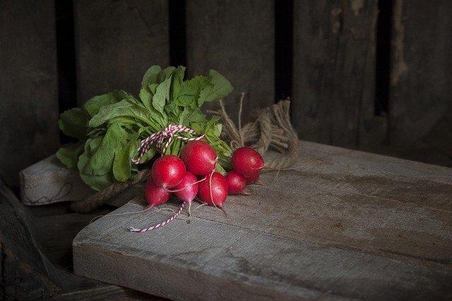 上質な赤い野菜