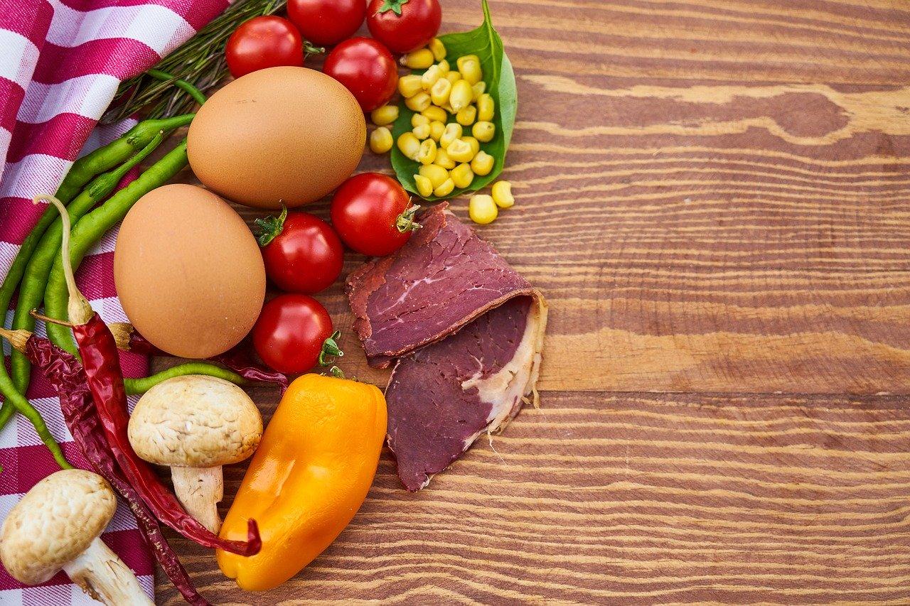 色々な自然の食品材料