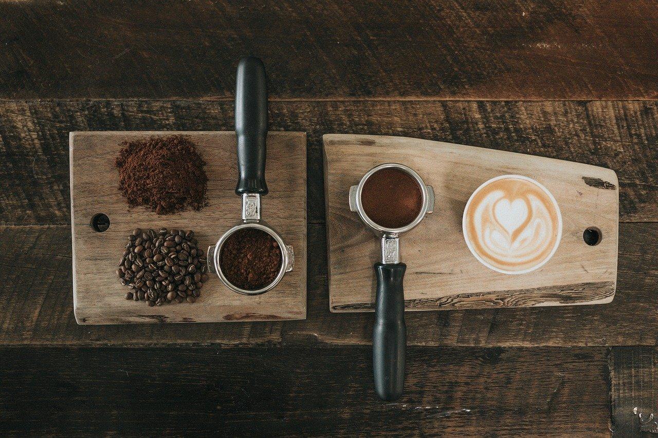 豆から挽いたナチュラルなコーヒー