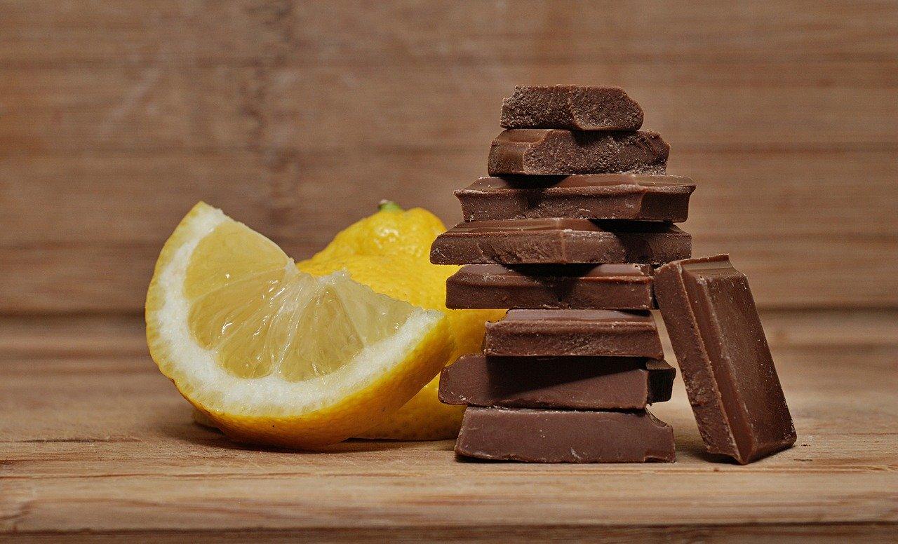 レモンとチョコレート