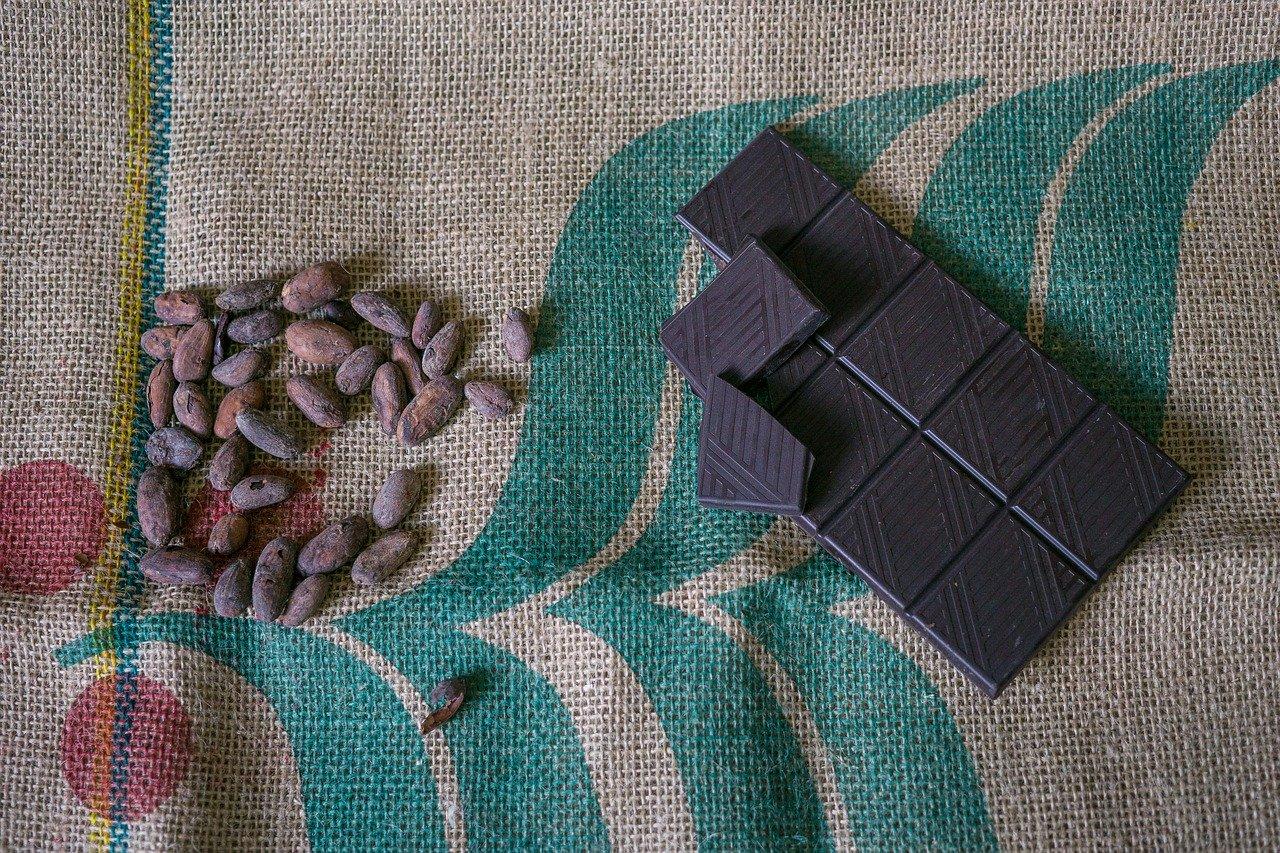 オーガニック豆とチョコレート