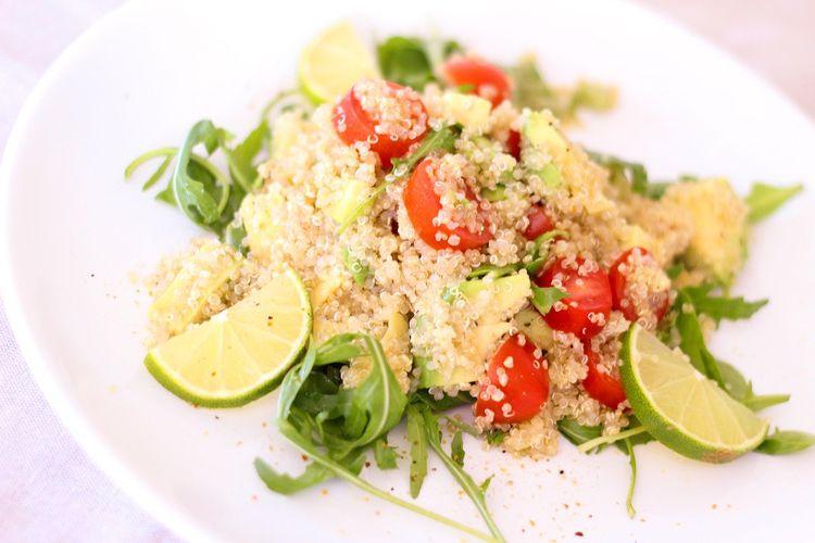 オーガニックな野菜サラダ
