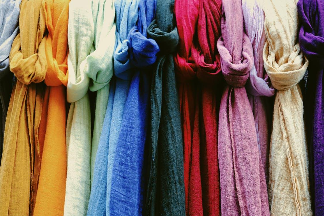 色とりどりのオーガニックファッション