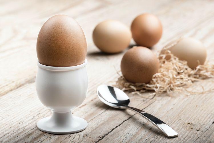 オーガニックな卵料理