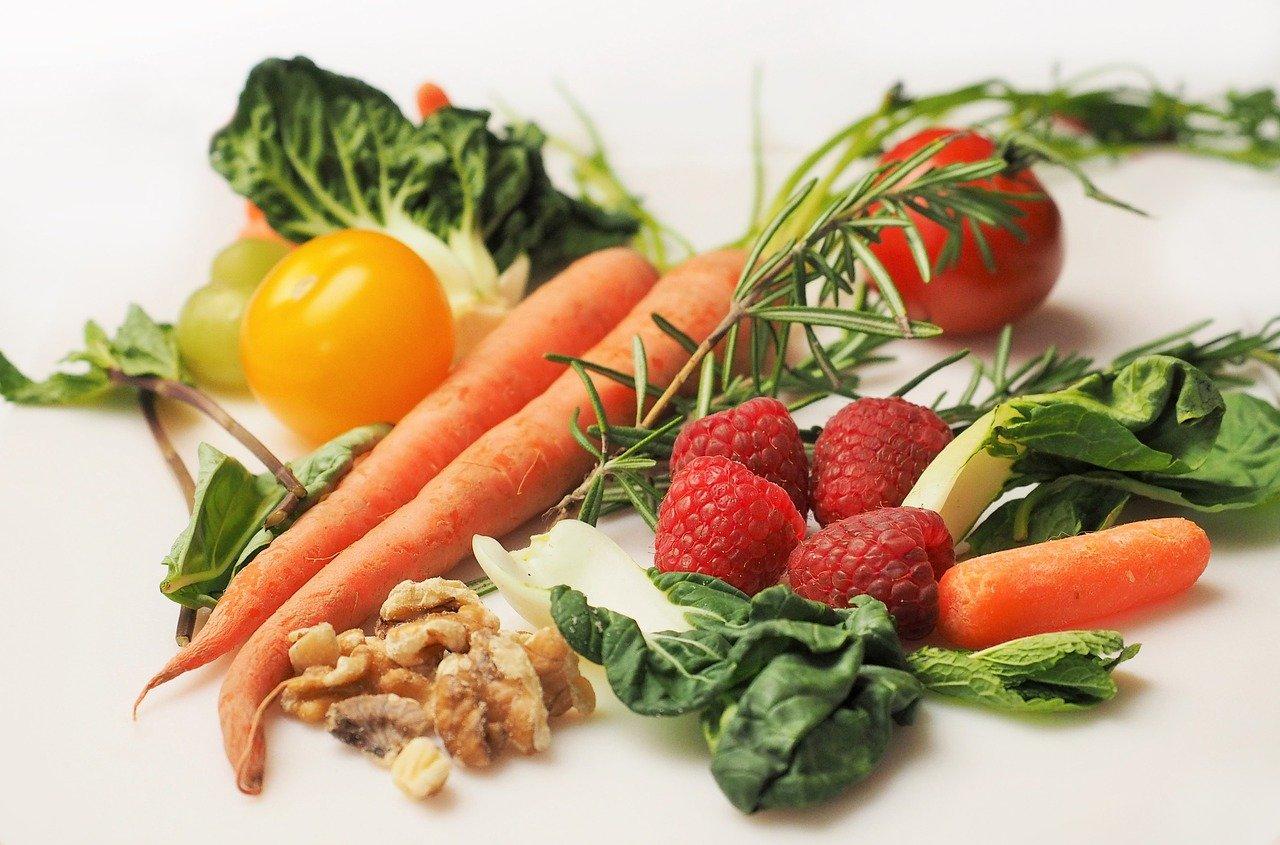 宅配予定のオーガニックの野菜