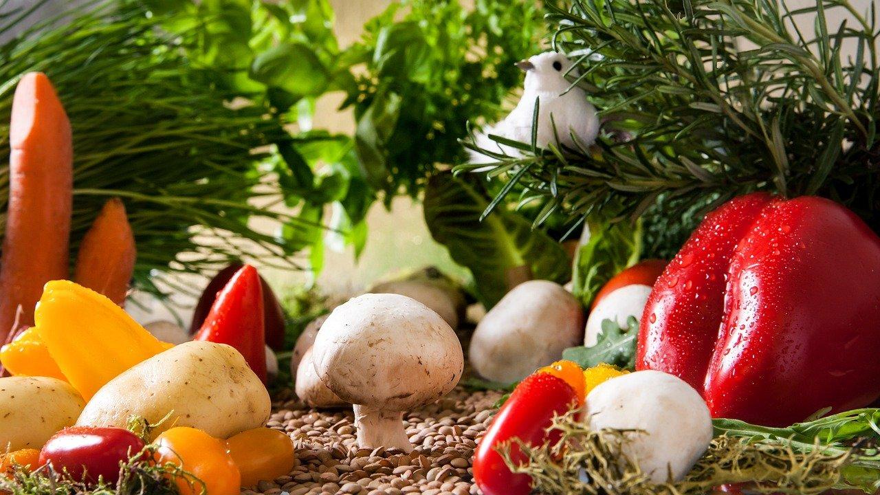 宅配のためのオーガニックの野菜