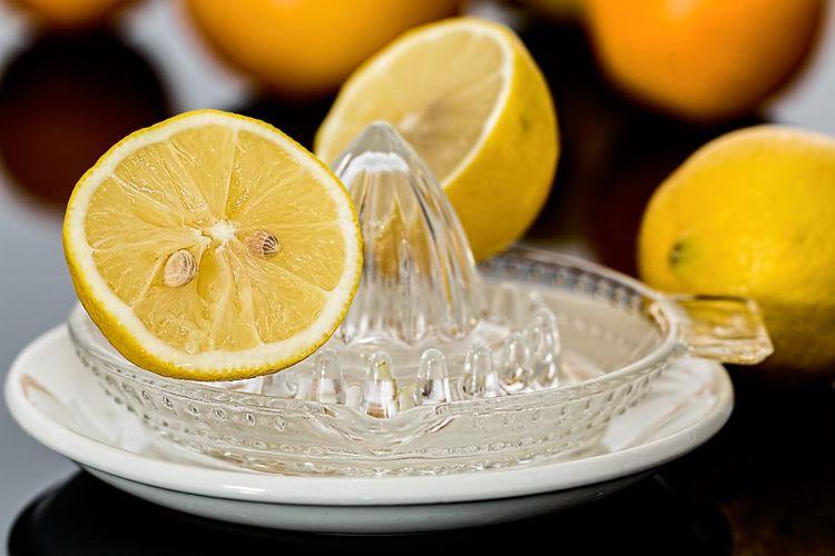 オーガニックのレモン