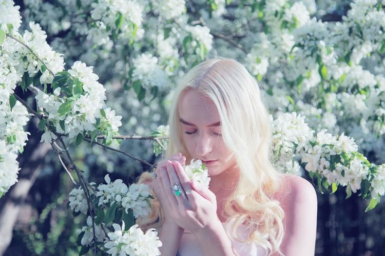 オーガニックの美白化粧品の原料