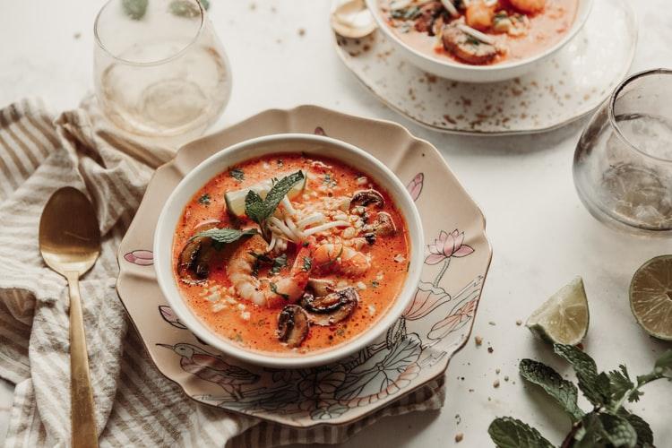 海鮮系の美味しそうなスープ