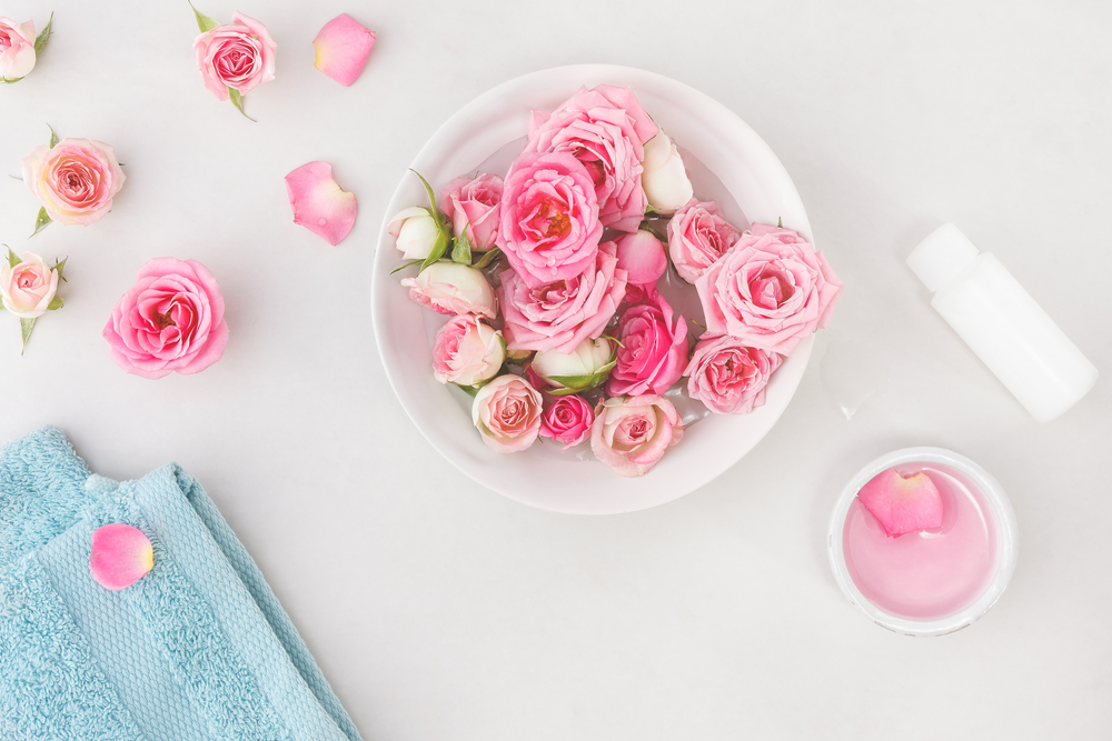 花瓶にはいった花