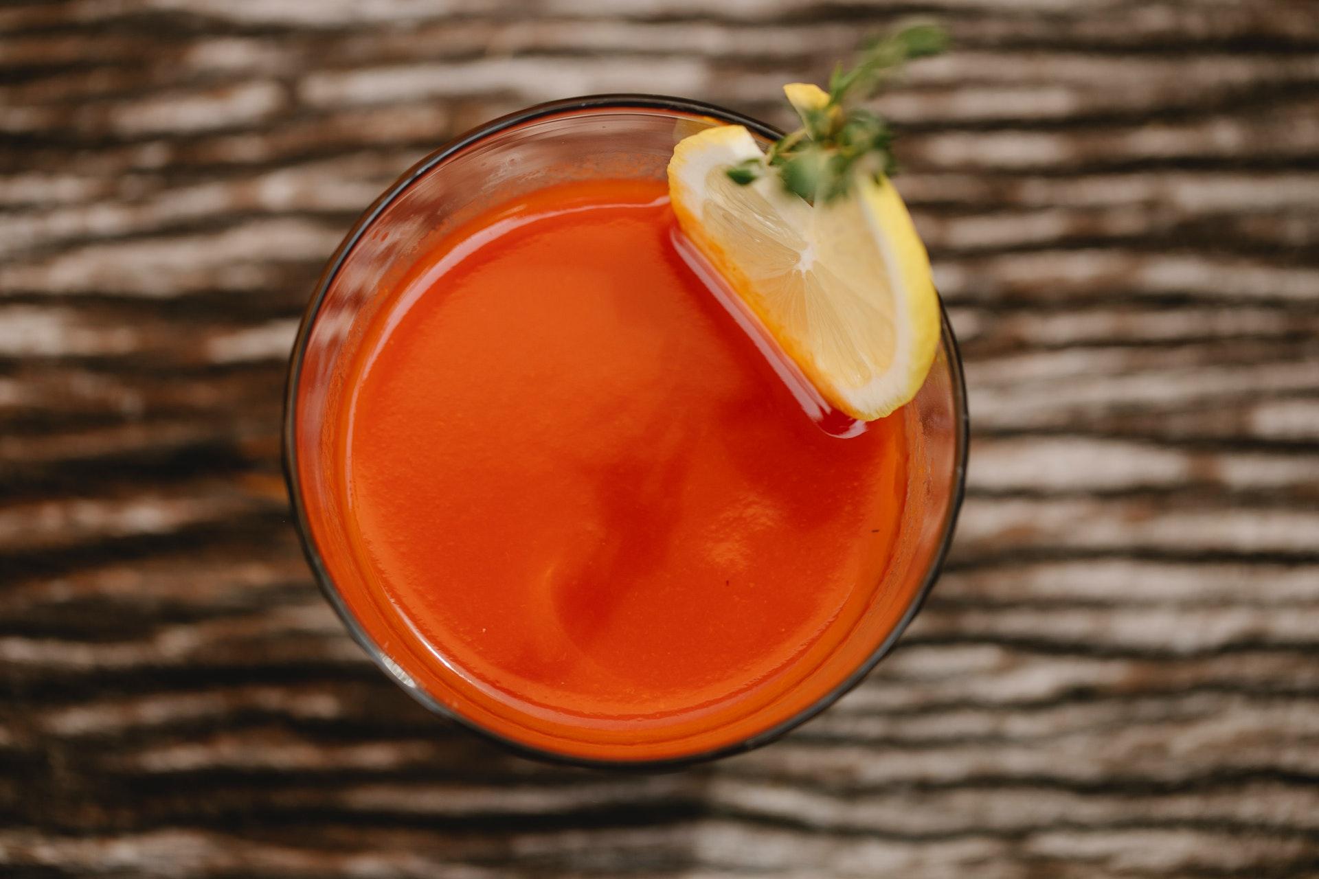 美味しそうなトマトジュース