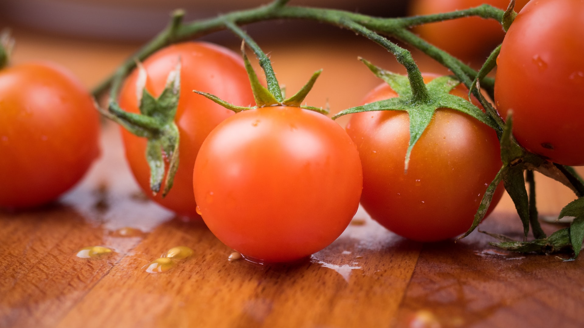 つやつやなプチトマト
