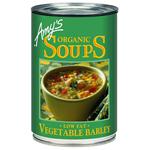 Amy'sのベジタブルバーリー・スープ