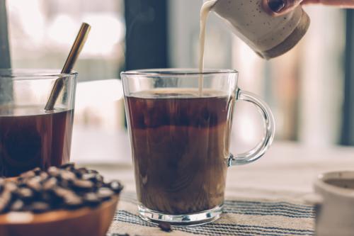 豆乳コーヒー